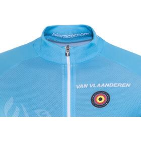 Bioracer Van Vlaanderen Pro Race Kleding set Heren blauw